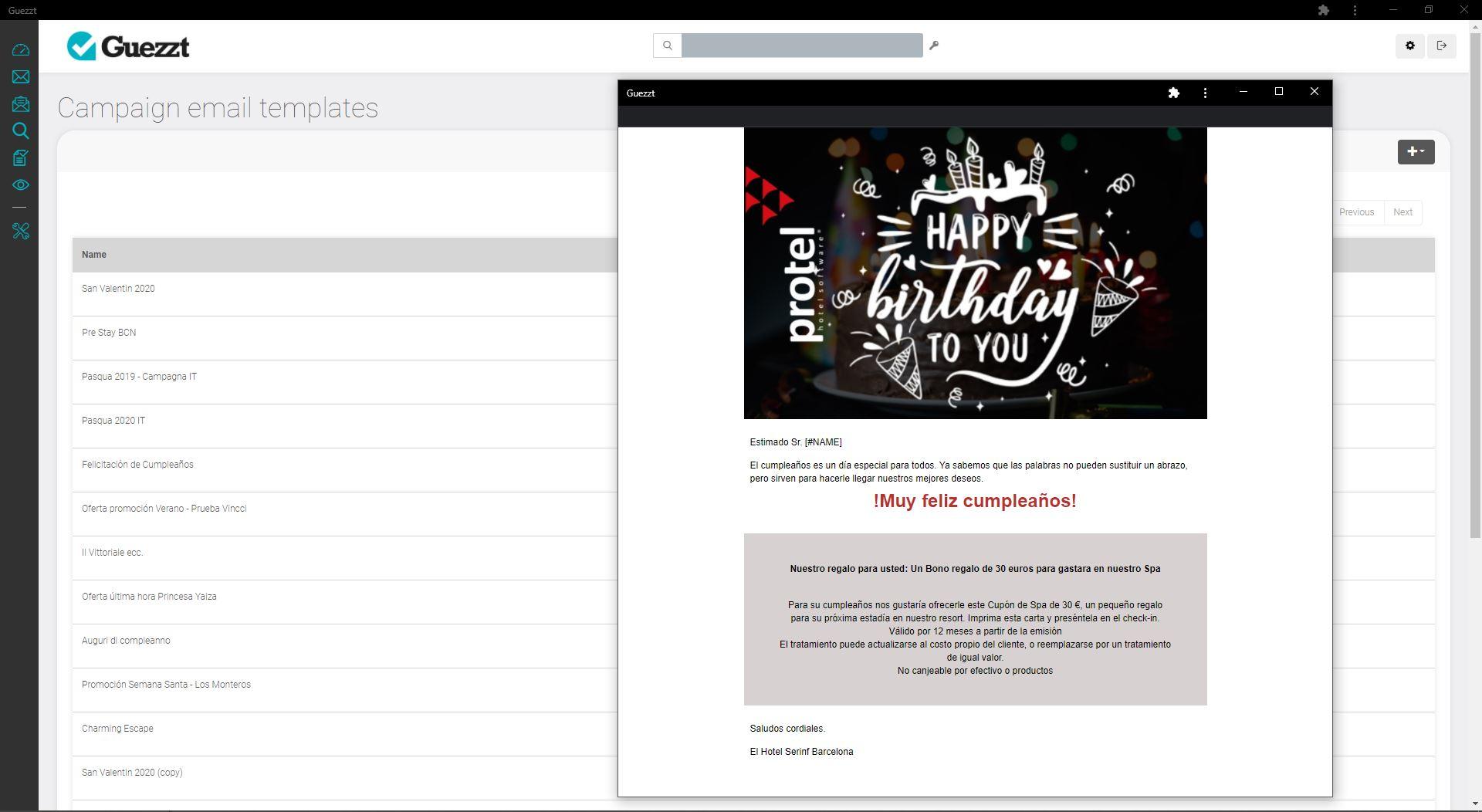 Screen Guezzt Email Automatiche Che Creano Vicinanza