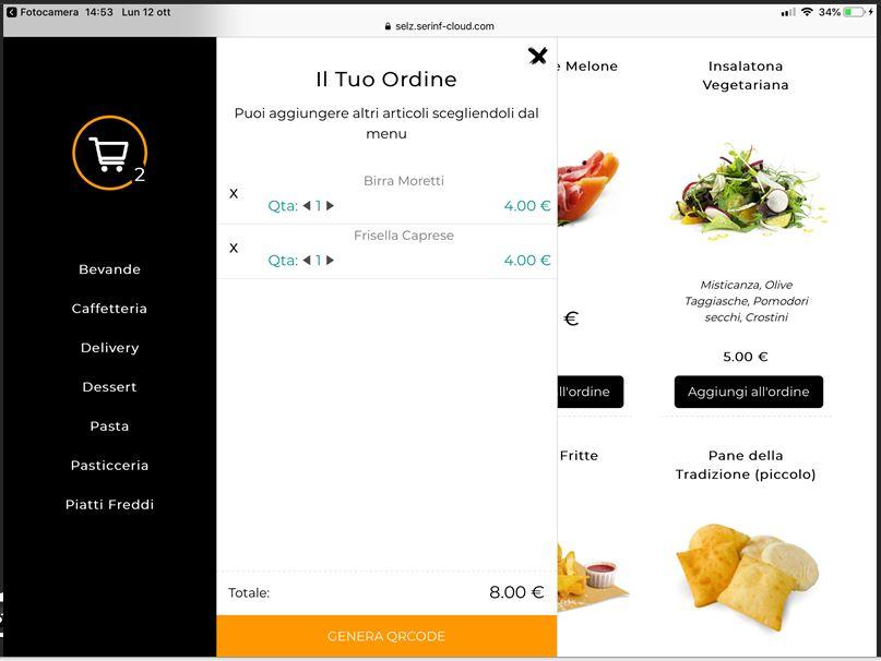 Metti online il menu del tuo locale e rendilo accessibile ai tuoi clienti tramite QR code.