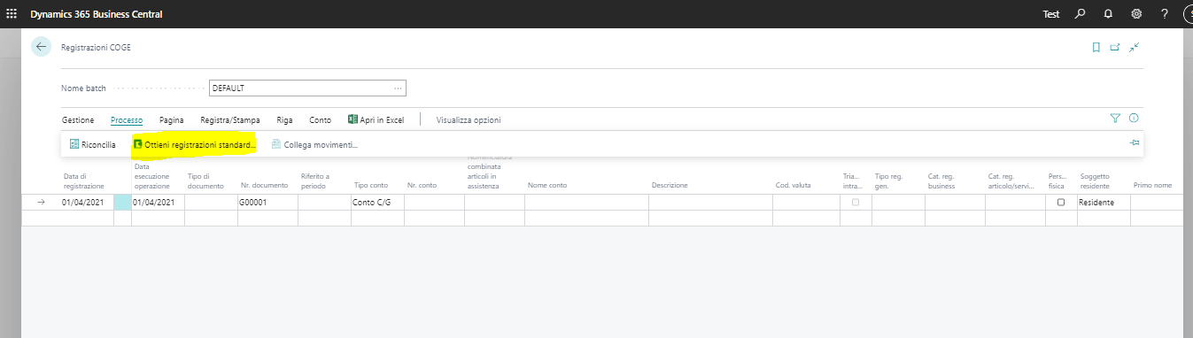 Screen Hotel Back Office Automatizzazione processi