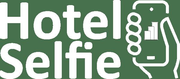 Hotel Selfie negative logo